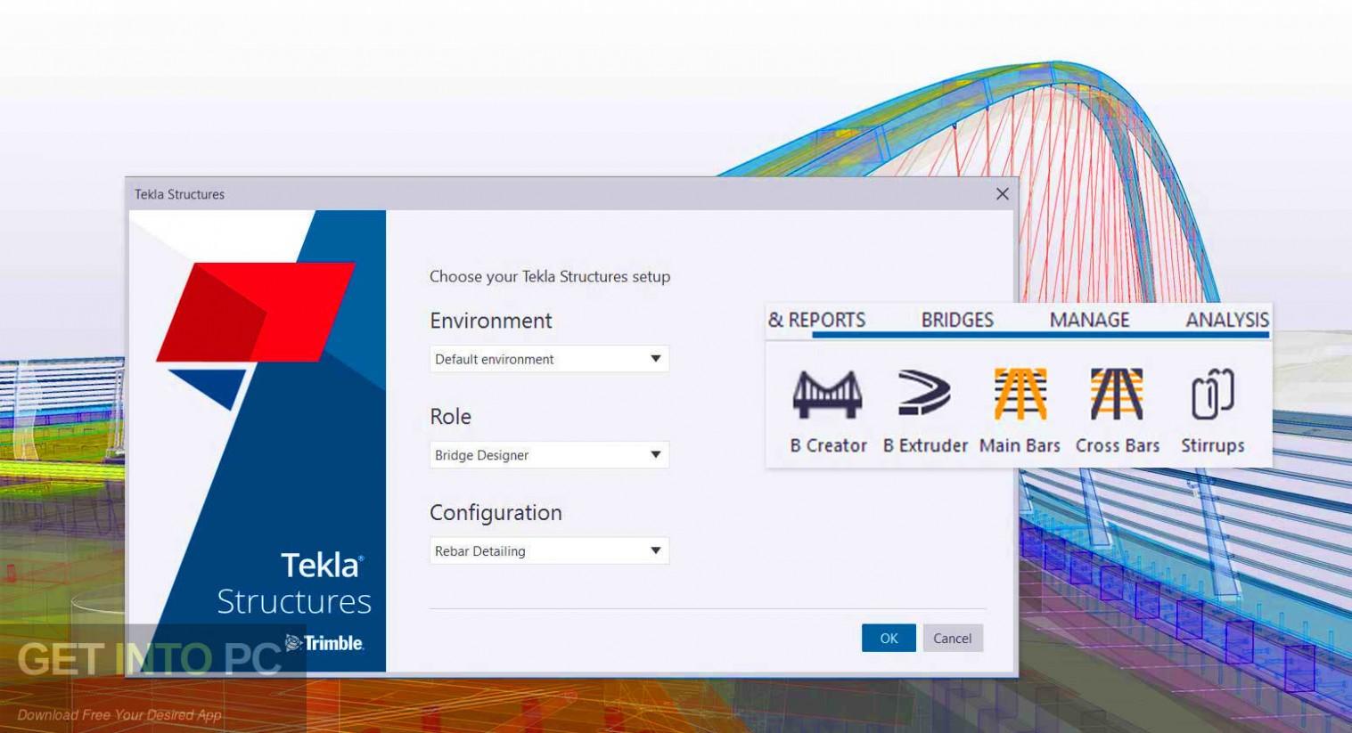 Tekla Structures 2019 SR1 + Environments Latest Version Download-GetintoPC.com