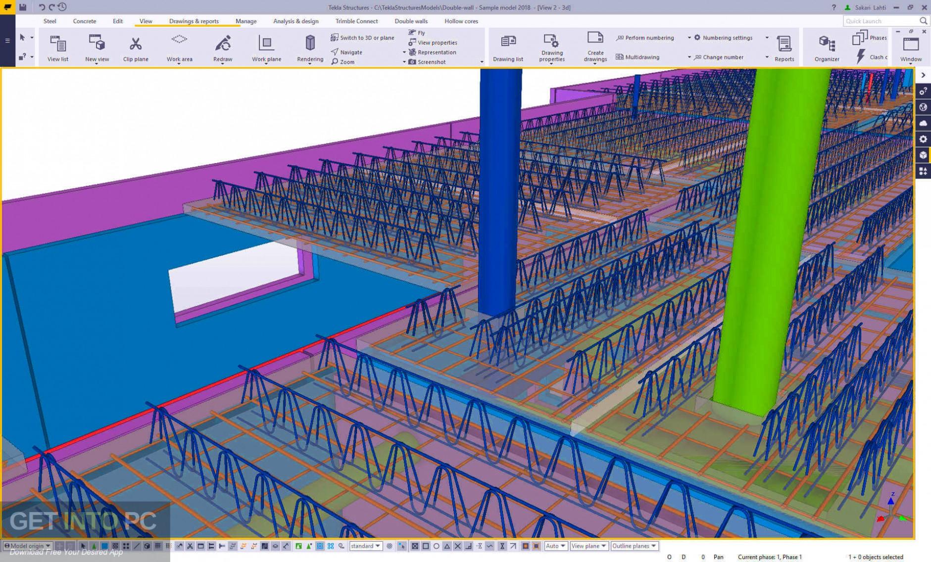 Tekla Structures 2019 SR1 + Environments Offline Installer Download-GetintoPC.com