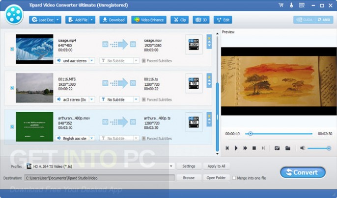 Tipard Video Converter Ultimate 9.2.30 Offline Installer Download