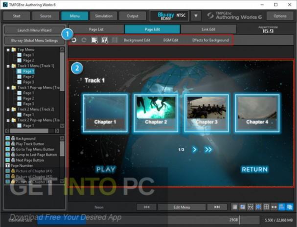 TMPGEnc Authoring Works 6 Offline Installation Download-GetintoPC.com