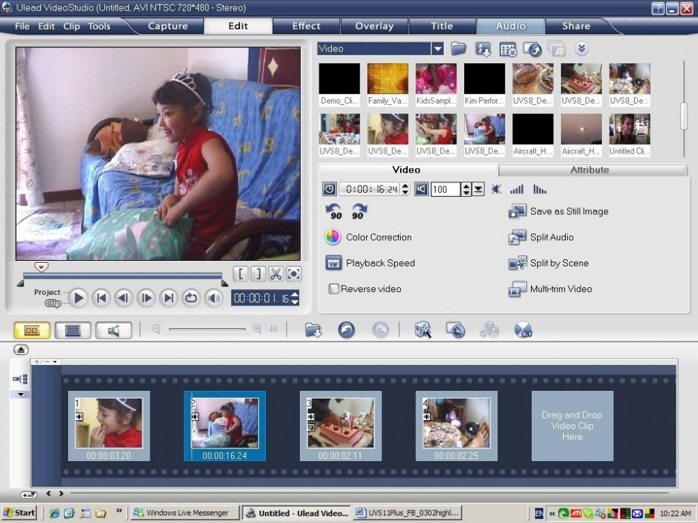 Ulead Video Studio 11 Free Download setup
