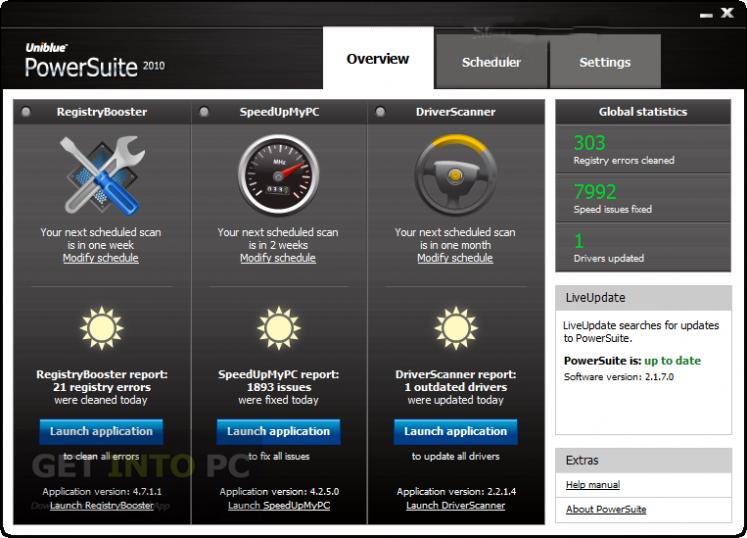 Uniblue Powersuite 2015 Latest Version Download