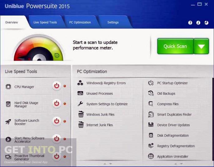 Uniblue Powersuite 2015 Offline Installer Download