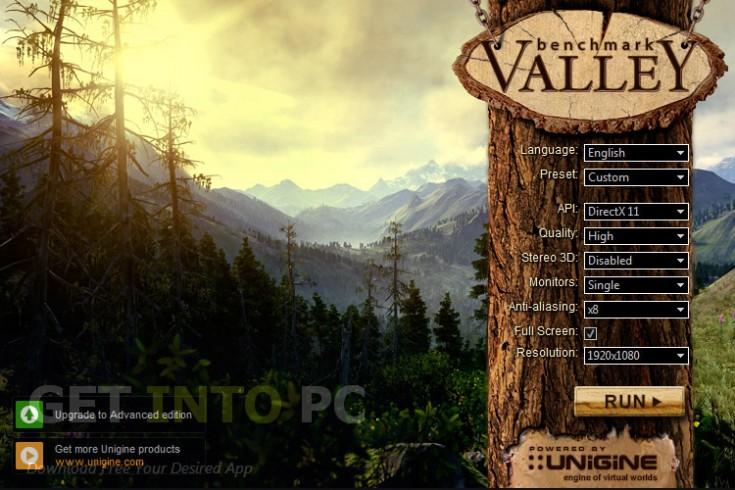UNIGINE Valley Benchmark Free Download