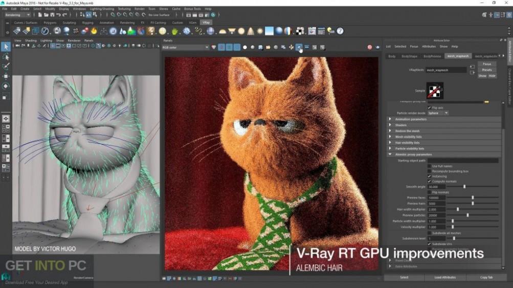 V-Ray For Maya 2016 Offline Installer Download-GetintoPC.com