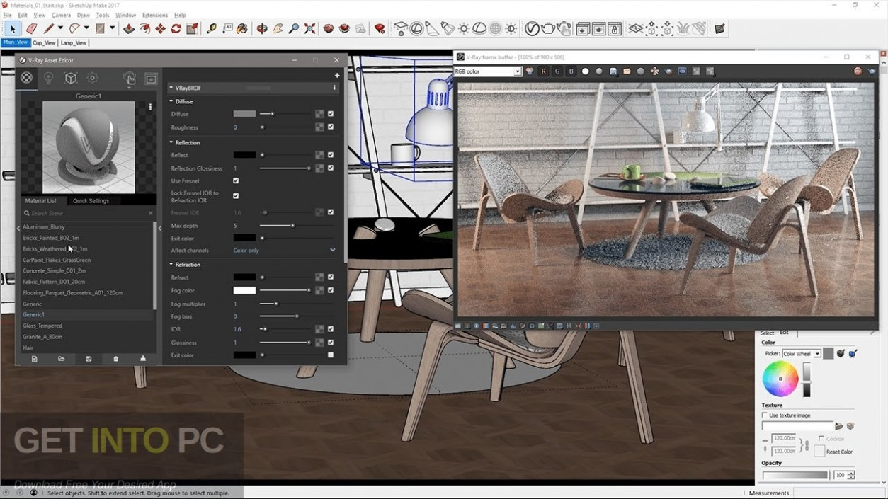 V-Ray for SketchUp 2018 Direct Link Download-GetintoPC.com