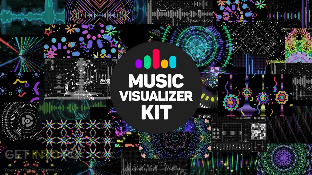 VideoHive Music Visualizer Kit for After Effects Free Download-GetintoPC.com