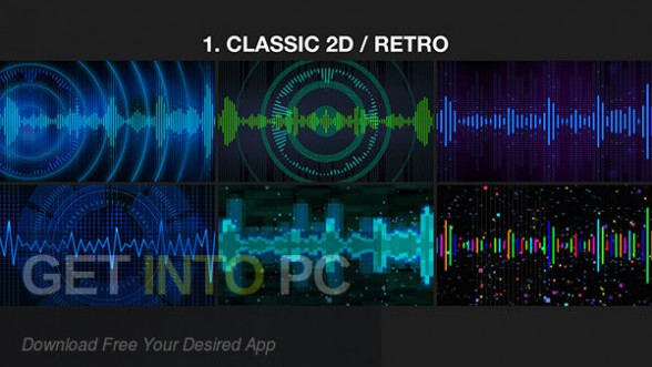 VideoHive Music Visualizer Kit for After Effects Latest Version Download-GetintoPC.com