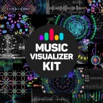VideoHive Music Visualizer Kit for After Effects Free Download