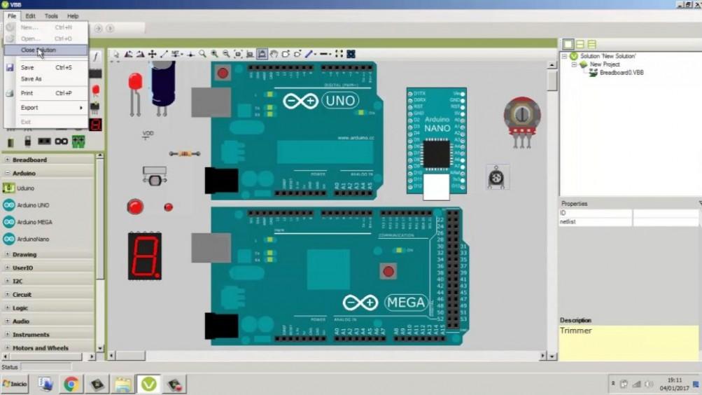 Virtual Breadboard 4.15 Offline Installer Download