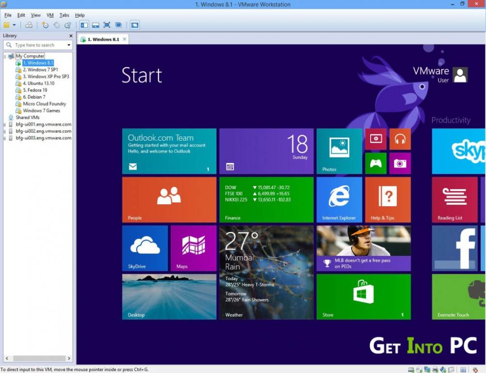 VMware Workstation 10 Free Download