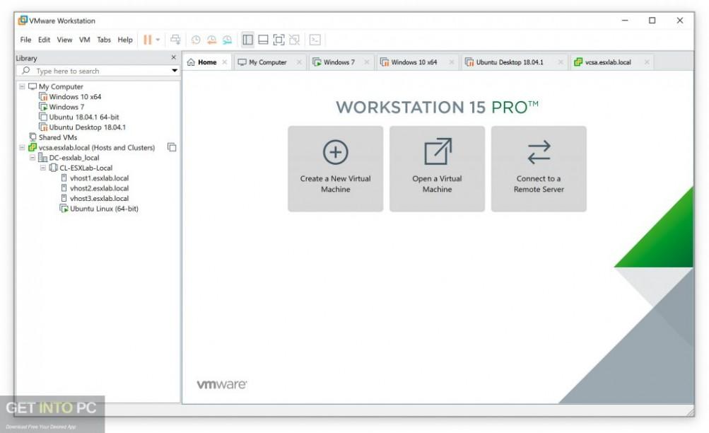 VMware Workstation Pro 15 Direct Link Download-GetintoPC.com