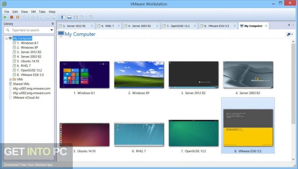 VMware Workstation Pro 15 Latest Version Download-GetintoPC.com