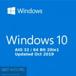 Windows 10 AIO 32 / 64 Bit 20in1 Updated Oct 2019 Free Download
