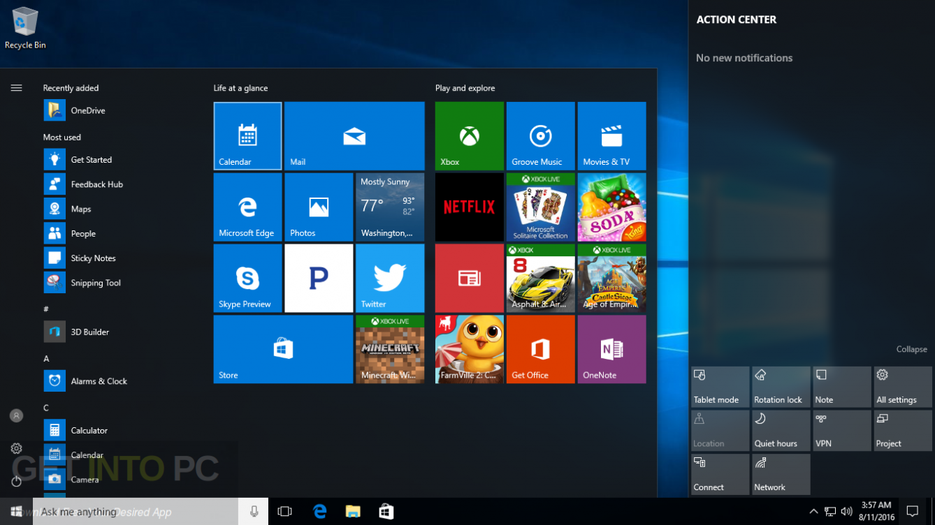 Windows 10 All in One x86 ISO With May 2017 Updates Offline Installer Download