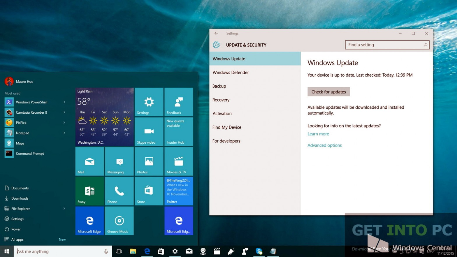 Windows 10 Enterprise Redstone Build 11082 x64 ISO Offline Installer Download