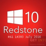 Windows 10 Pro 64 Redstone RS1 14393 July 2016 Free Download