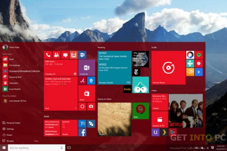 Windows 10 Pro 64 Bit Redstone RS1 14393 July 2016 Offline Installer Download