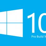 Windows 10 Pro Build 10547 32 64 Bit ISO Free Download