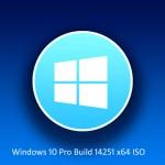 Windows 10 Pro Build 14251 x64 ISO Free Download