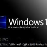 Windows 10 Pro x64 19H1 incl Office 2019 Updated Aug 2019 Free Download