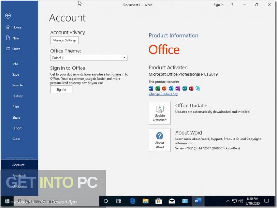 windows 10 pro x64 incl office 2019 june 2020 screenshot 3 getintopc.com