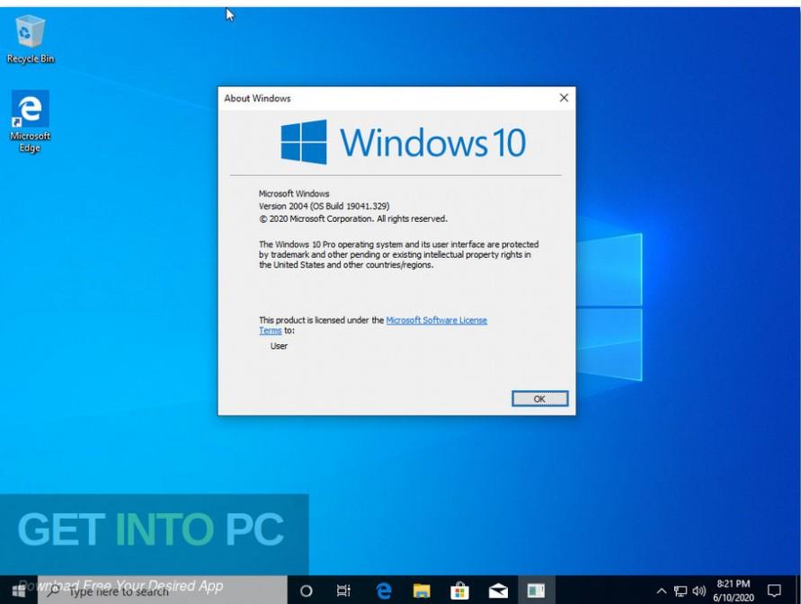 windows 10 pro x64 incl office 2019 june 2020 screenshot 5 getintopc.com