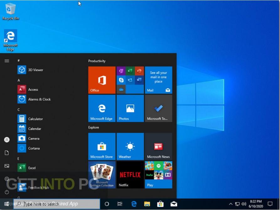 windows 10 pro x64 incl office 2019 june 2020 screenshot 6 getintopc.com