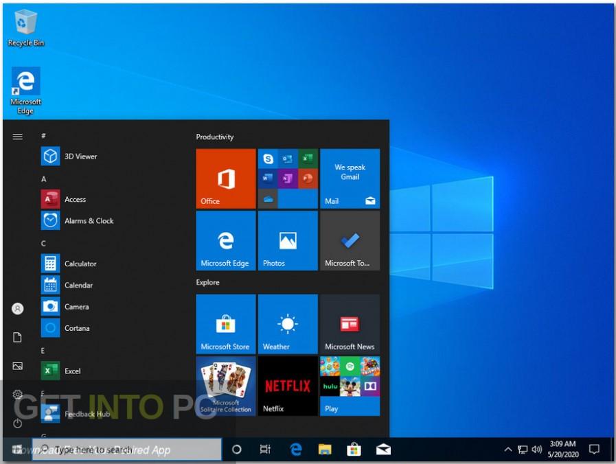 windows 10 pro x64 incl office 2019 may 2020 screenshot 6 getintopc.com