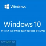 Windows 10 Pro x64 incl Office 2019 Updated Oct 2019 Free Download