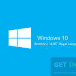 Windows 10 Redstone 14267 Single Language ISO x86 x64 Free Download