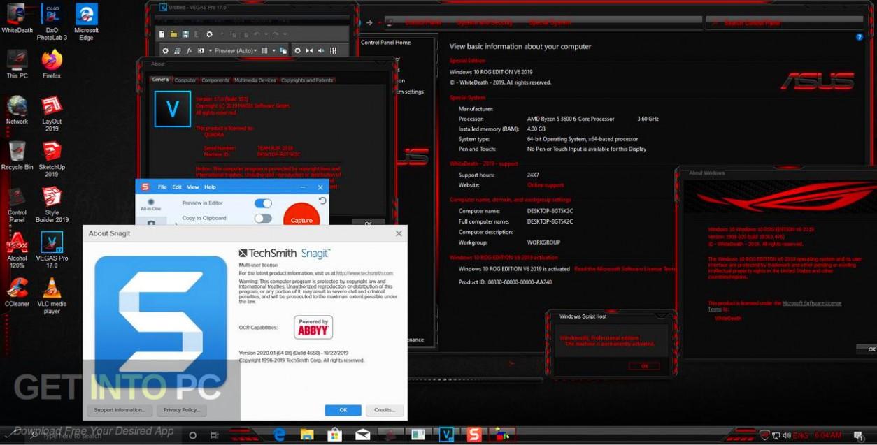 Windows 10 Gamer Elegant Edition 2019 Offline Installer Download-GetintoPC.com