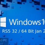 Windows 10 RS5 32 / 64 Bit Jan 2019 Free Download