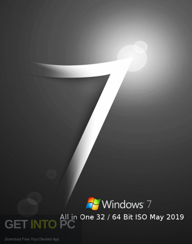 Windows 7 AIl in One 32 64 Bit ISO May 2019 Free Download-GetintoPC.com