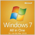Windows 7 All in One 32 / 64 Bit Mar 2019 Free Download