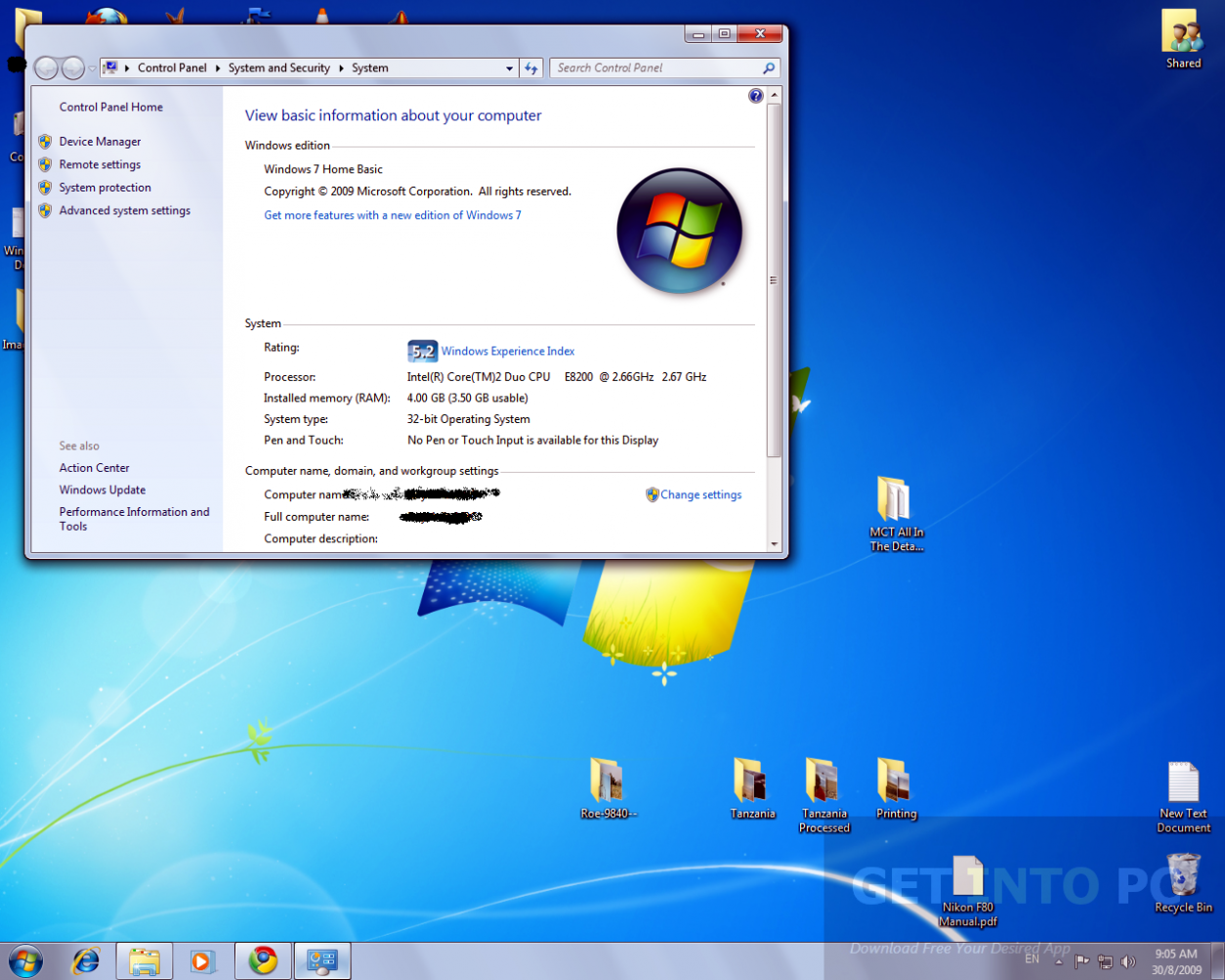Windows 7 Home Basic ISO 32 Bit 64 Bit Free Download - Get