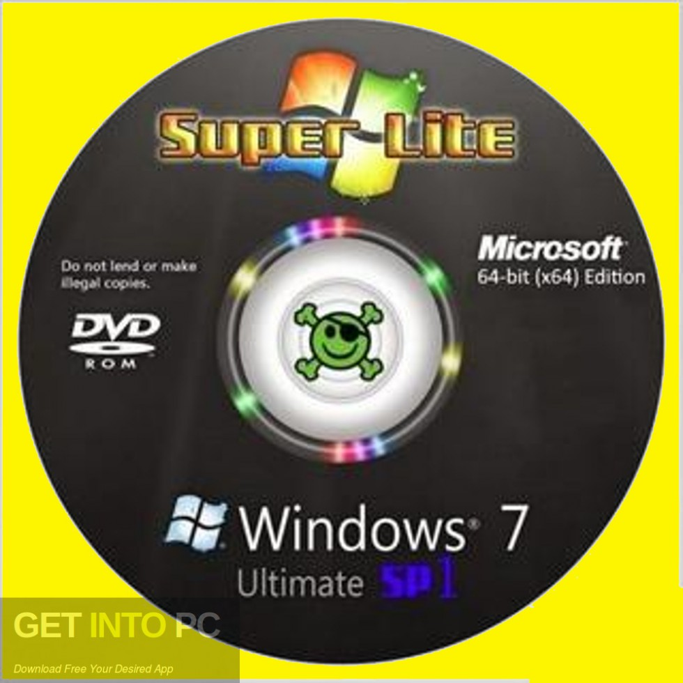 Windows 7 Super Lite Edition April 2019 Free Download-GetintoPC.com