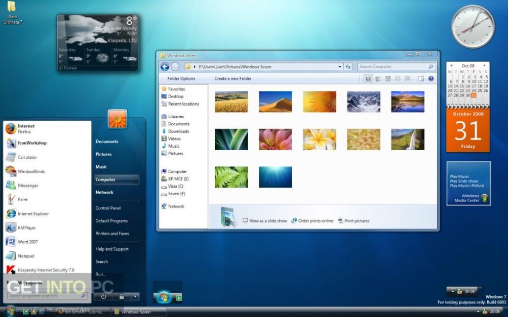 Windows 7 Ultimate 32 64 Bit ISO Sep 2018 Offline Installer Download-GetintoPC.com