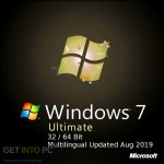 Windows 7 Ultimate 32 / 64 Bit Multilingual Updated Aug 2019 Free Download