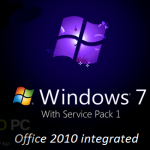 Windows 7 Ultimate with Office 2010 Aug 2017 Free Download