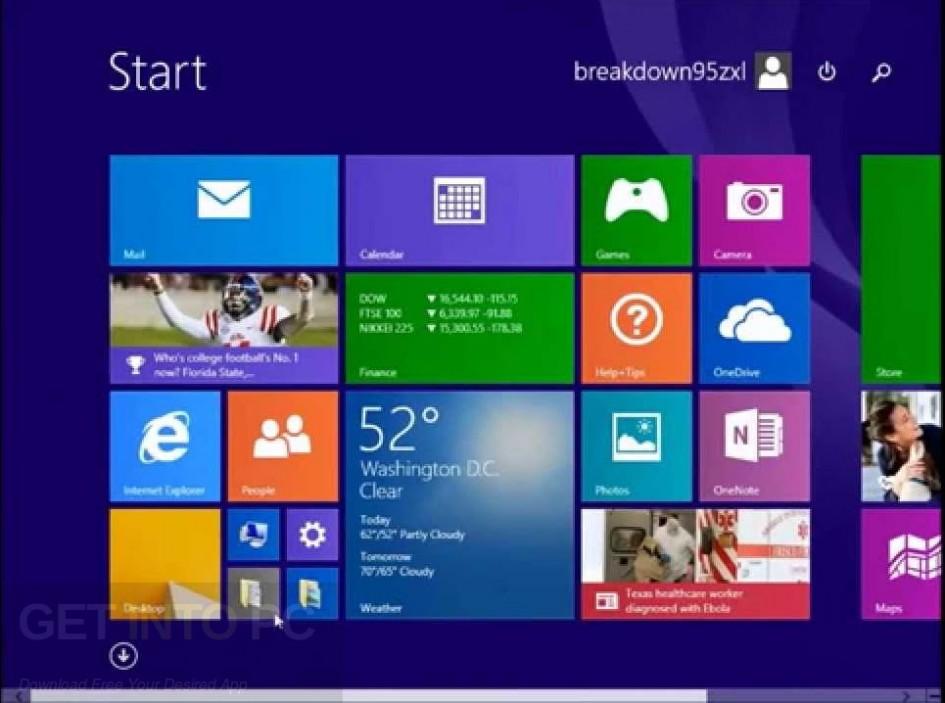 Windows 8.1 AIO Feb 2018 Direct Link Download