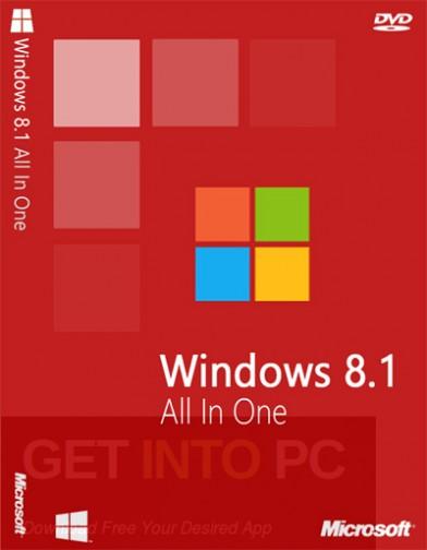 Windows 8.1 AIO Feb 2018 Free Download