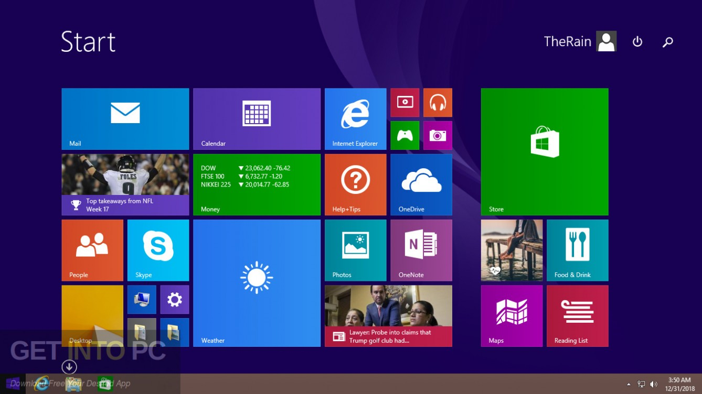 Windows 8.1 Pro 32 64 Bit Jan 2019 Offline Installer Download-GetintoPC.com