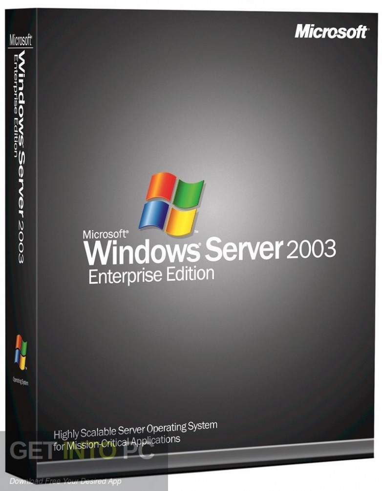 Windows Server 2003 All Editions ISO Free Download-GetintoPC.com