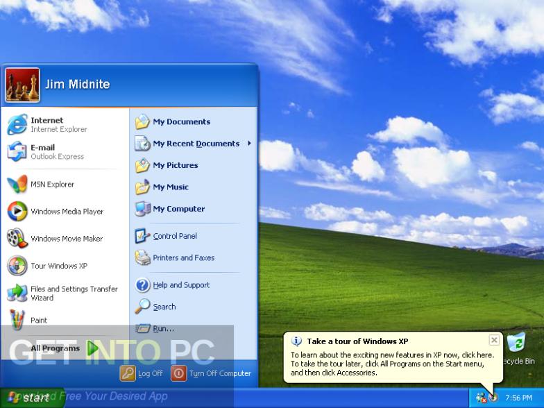 Windows XP Professional SP3 32 Bit ISO Dec 2016 Latest Version Download