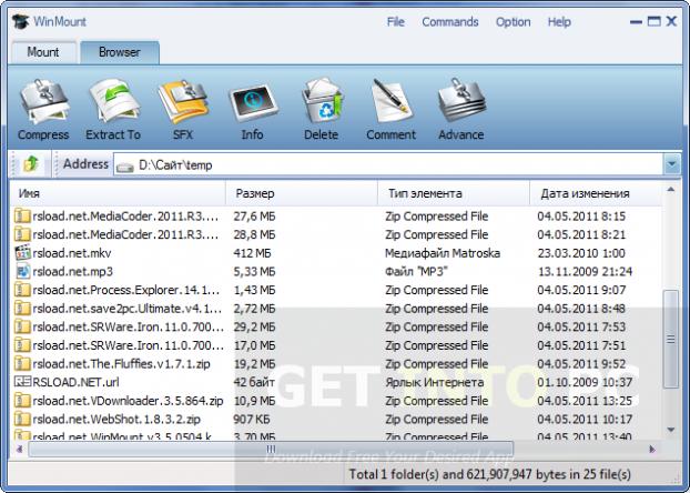 WinMount Setup Free Download