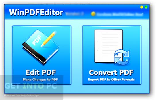 WinPDFEditor Offline Installer Download