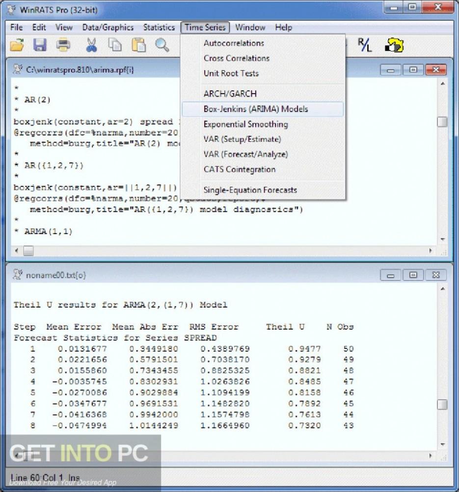 WinRATS Pro 10 Latest Version Download-GetintoPC.com