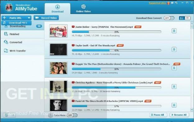 Wondershare AllMyTube Latest Version Download