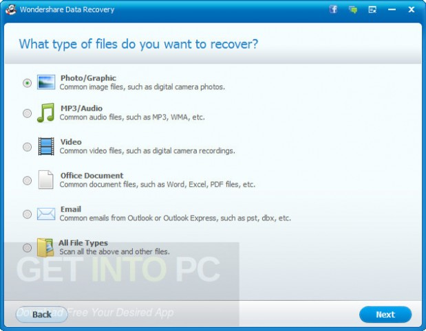 Wondershare Data Recovery 6.6.1.0 Offline Installer Download
